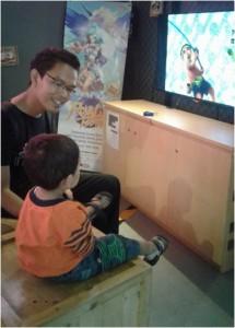 Edukasi anak lewat game