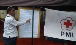 foto : duniabiza.com hasil pendataan korban oleh PMI