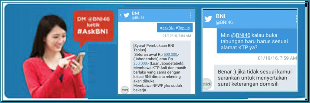 DM Mau Bertanya Nggak Sesat di Jalan #AskBNI BNI Blogging Competition Twitter @BNI46 #AskBNI