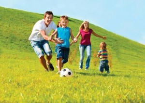 Olahraga anak Keluarga