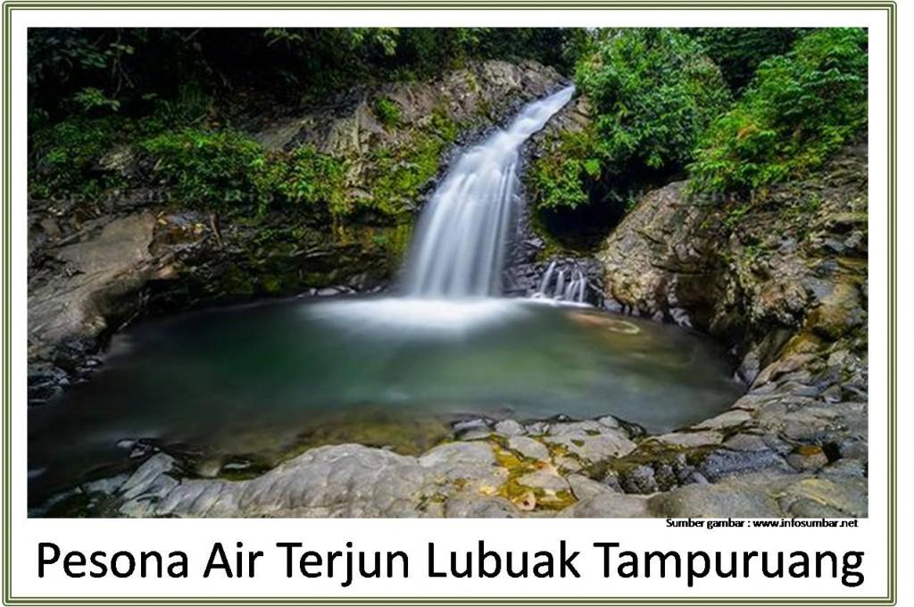 Air Terjun Lubuak Tampuruang Padang
