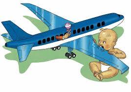 babies plane