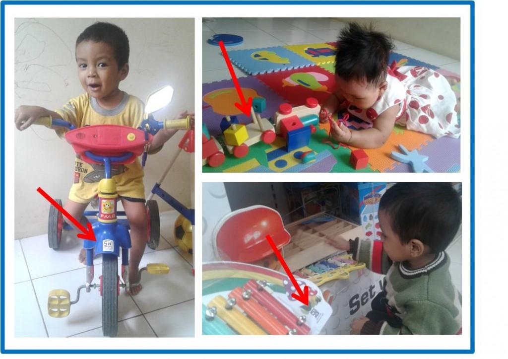 Mainan SNI untuk Bintang dan Zizi