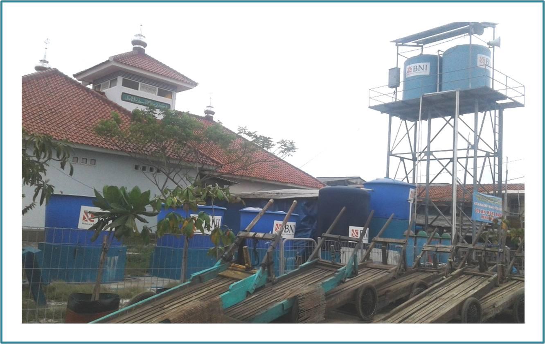 fasilitas publik berupa tanki ải bersih di Kampoeng BNI. Foto by @DuniaBiza