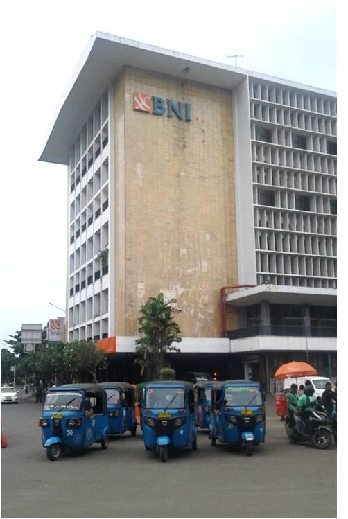 Gedung BNI di Kota Tua, foto by @Duniabiza