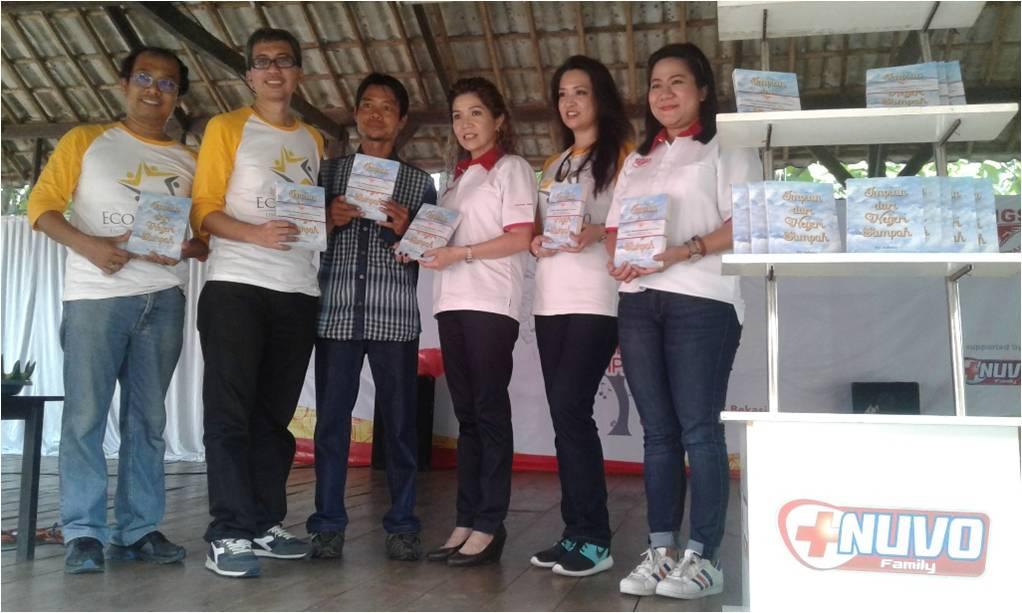 Peluncuran buku Impian dari Negeri Sampah