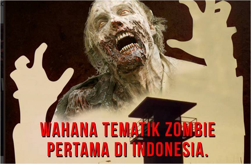 Dead Prison, Wahana Tematik Zombie pertama di Indonesia