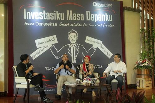Launching Danareksa Investasiku Masa Depanku, sumber : reksadana.danareksaonline.com