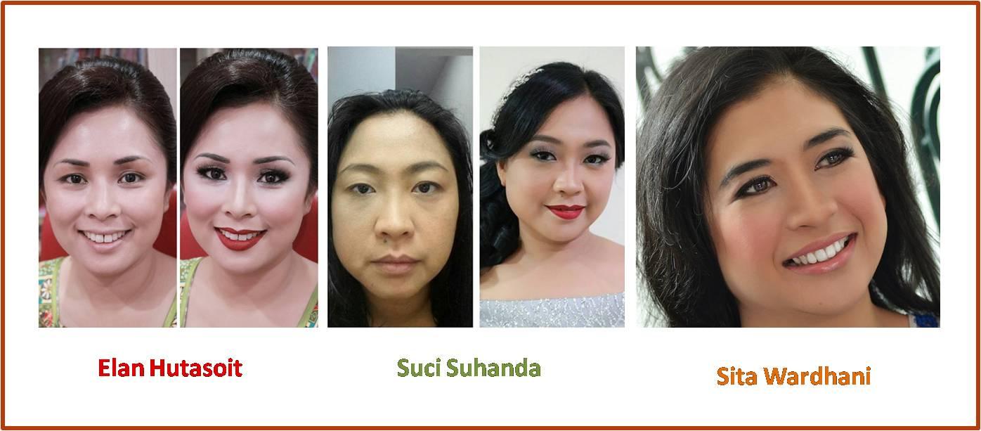 Sentuhan Make up Yonna Kairupan