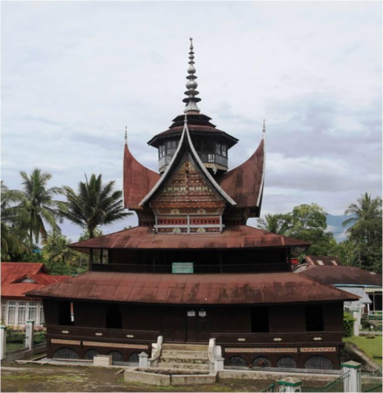 Surau Nagari Lubuak Bauak Batipuh, foto : wikipedia