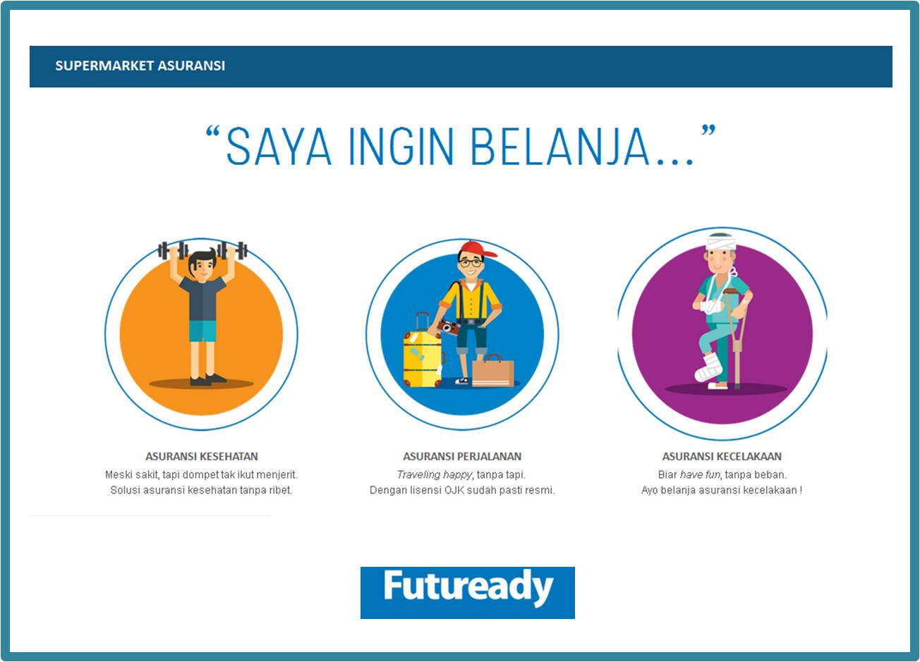 perbandingan asuransi jiwa Futuready