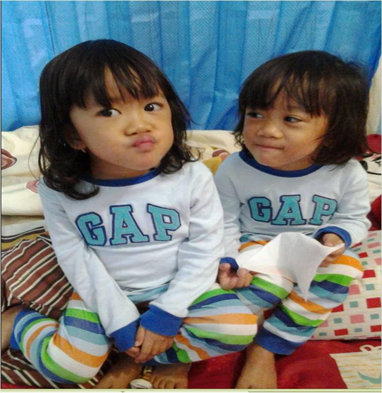 si kembar Kira dan Kara