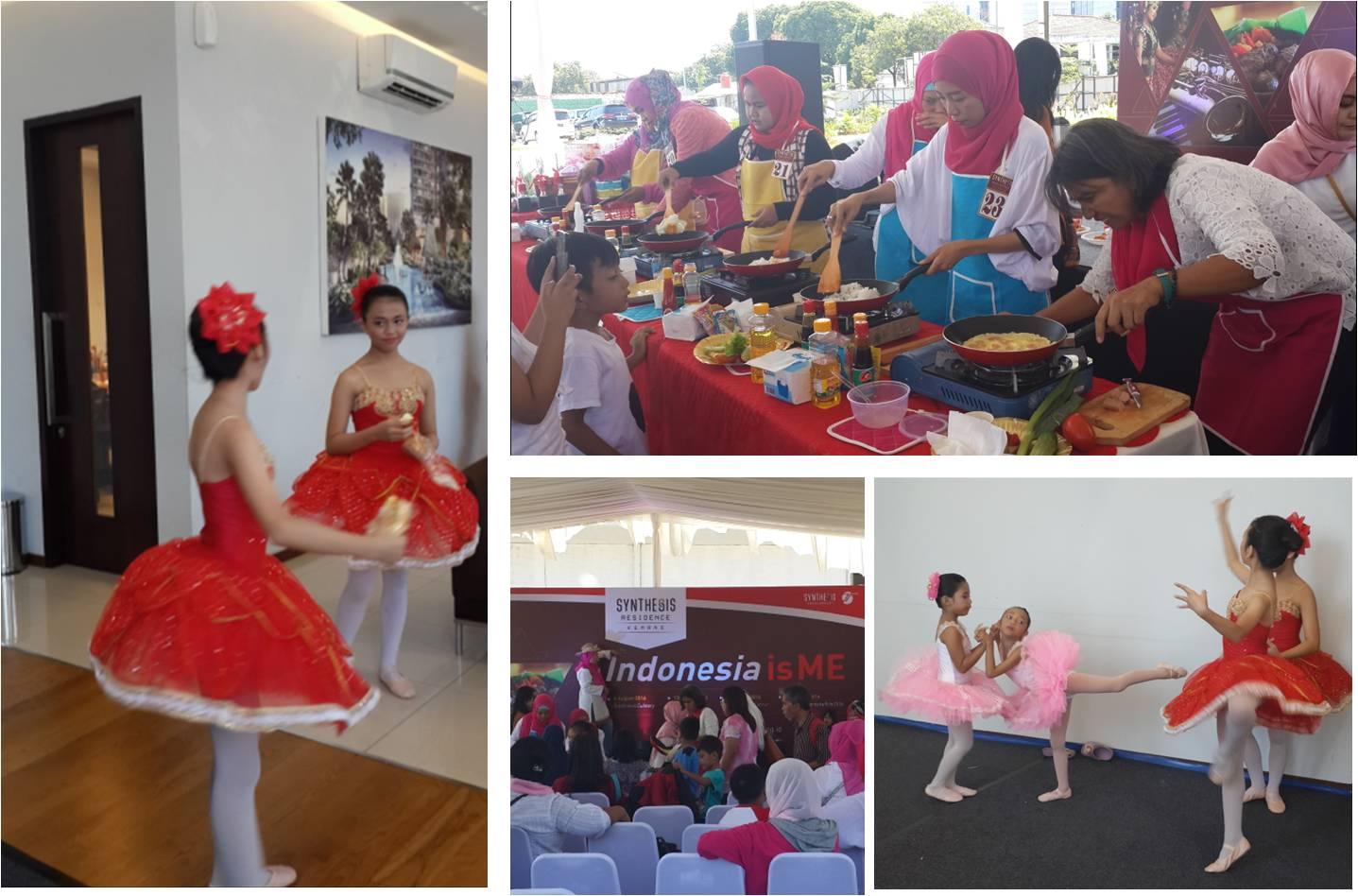 Rangkaian acara Indonesia is Me di Synthesis Residence Kemang