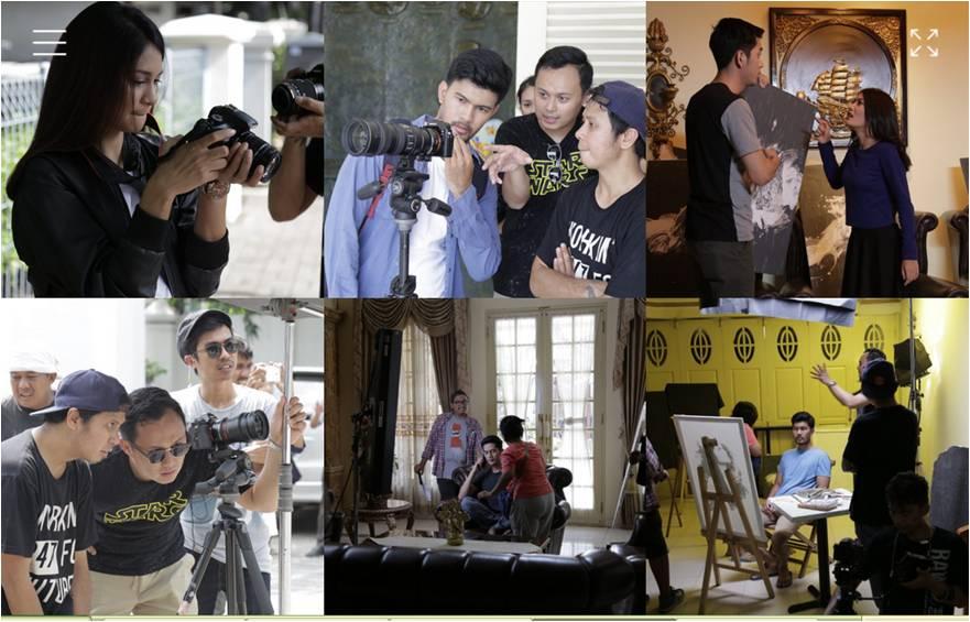 proses kreatif pembuatan film pendek Pusaka Prajawangsa