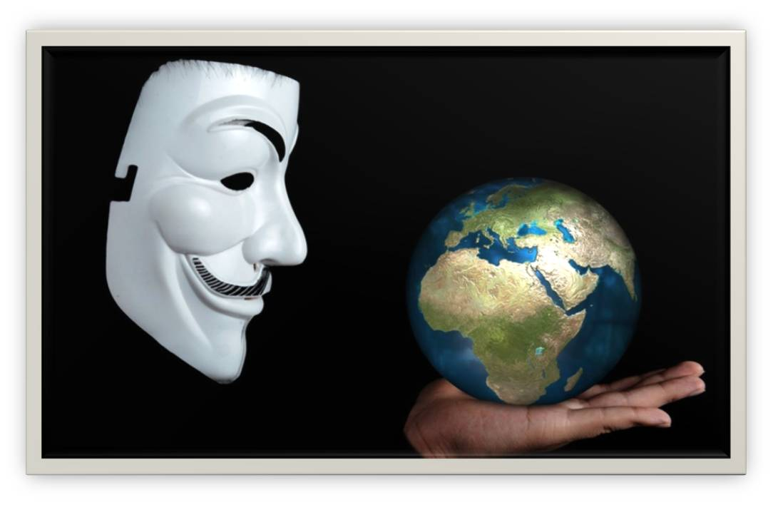 internet and mask