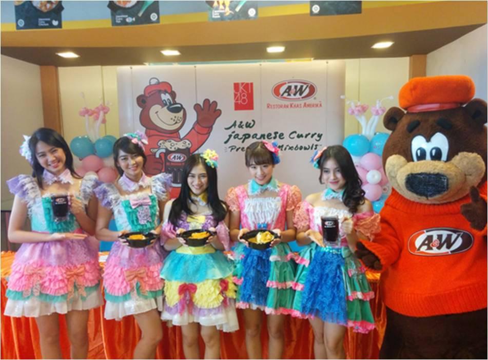 JKT48 Saat Peluncuran Japanese Curry Premium Mixbowls