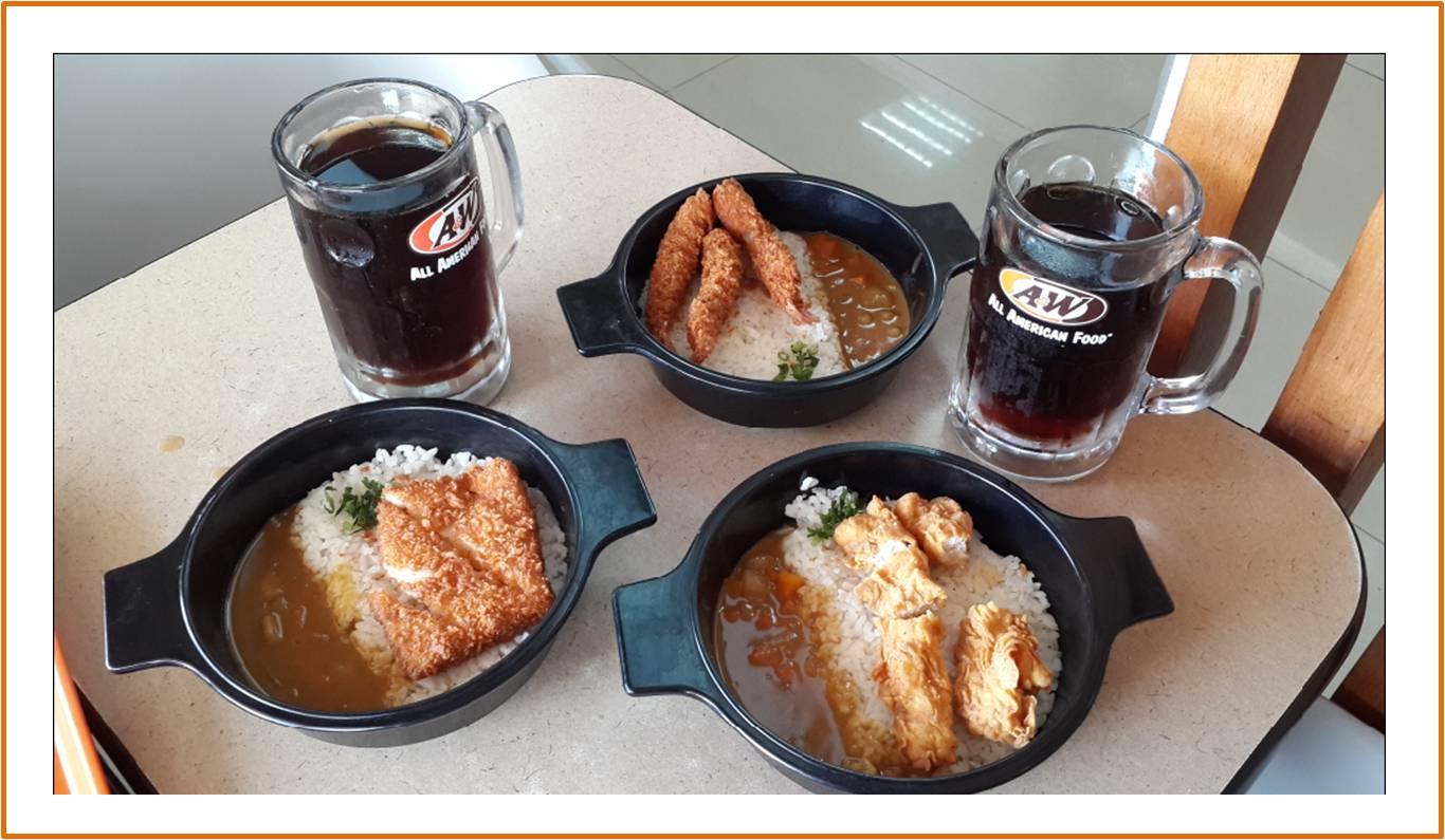 Tiga Menu Japanese Curry Premium Mixbowl yang menggugah selera