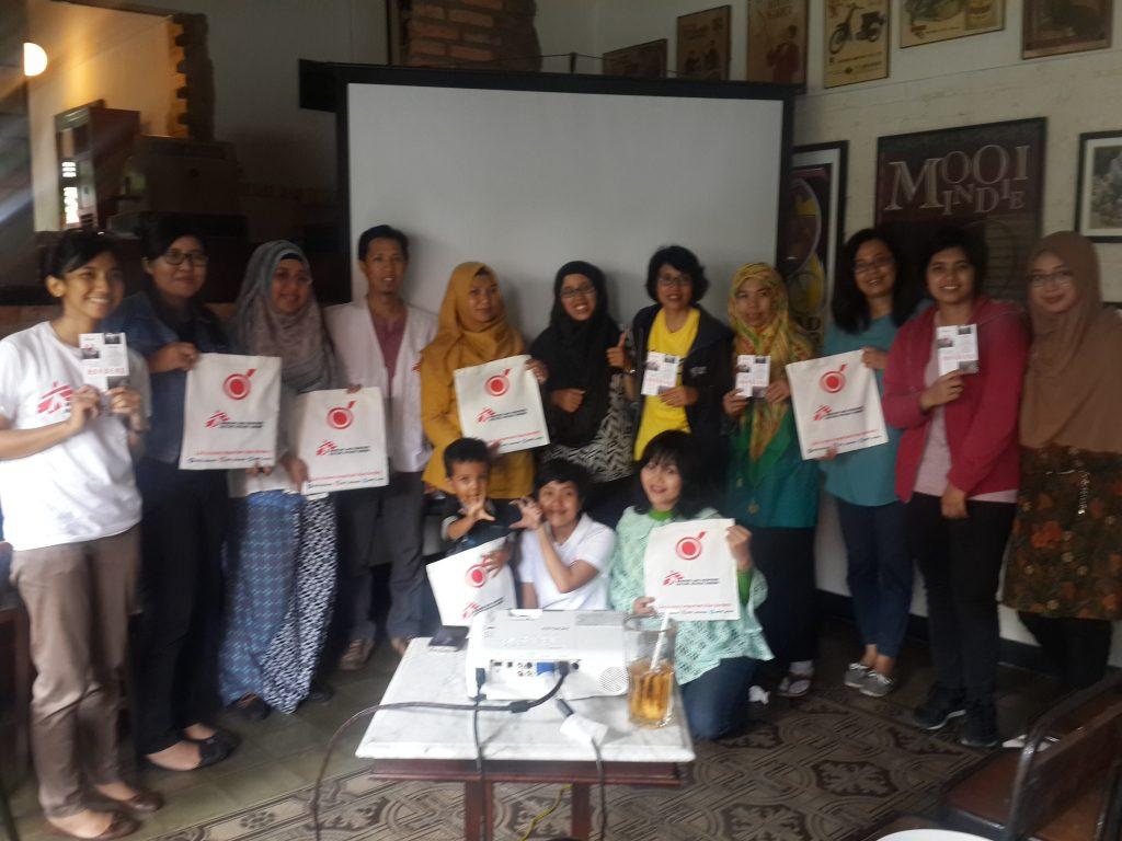 Bintang bersemangat menjadi bagian dari kampanye We Are Not a Target MSF