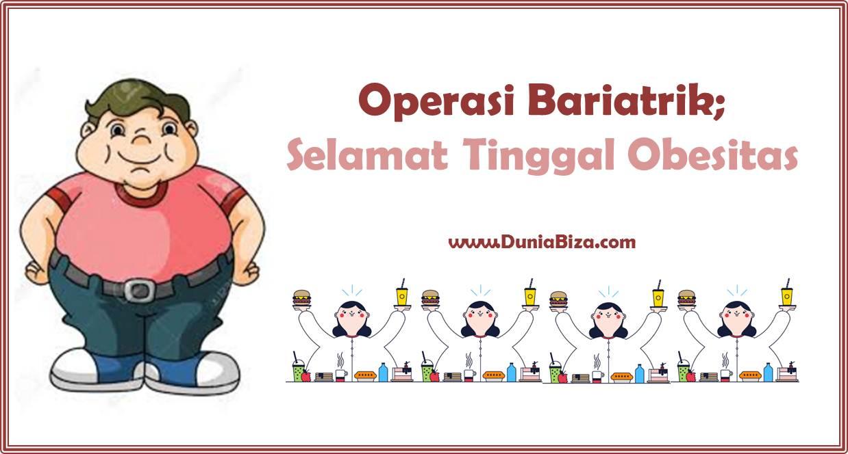 Penting! 5 Hal Tentang Operasi Untuk Obesitas