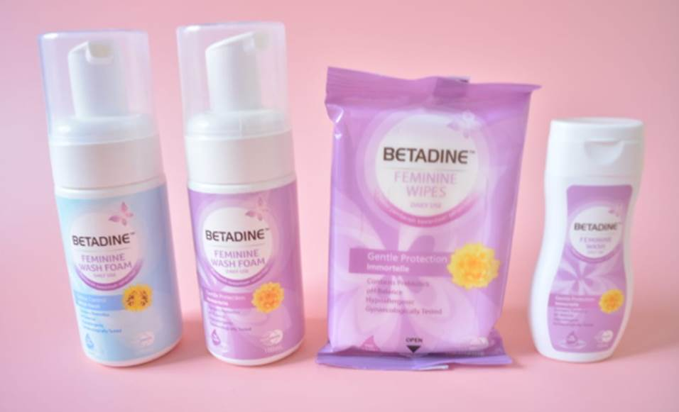 betadine wash