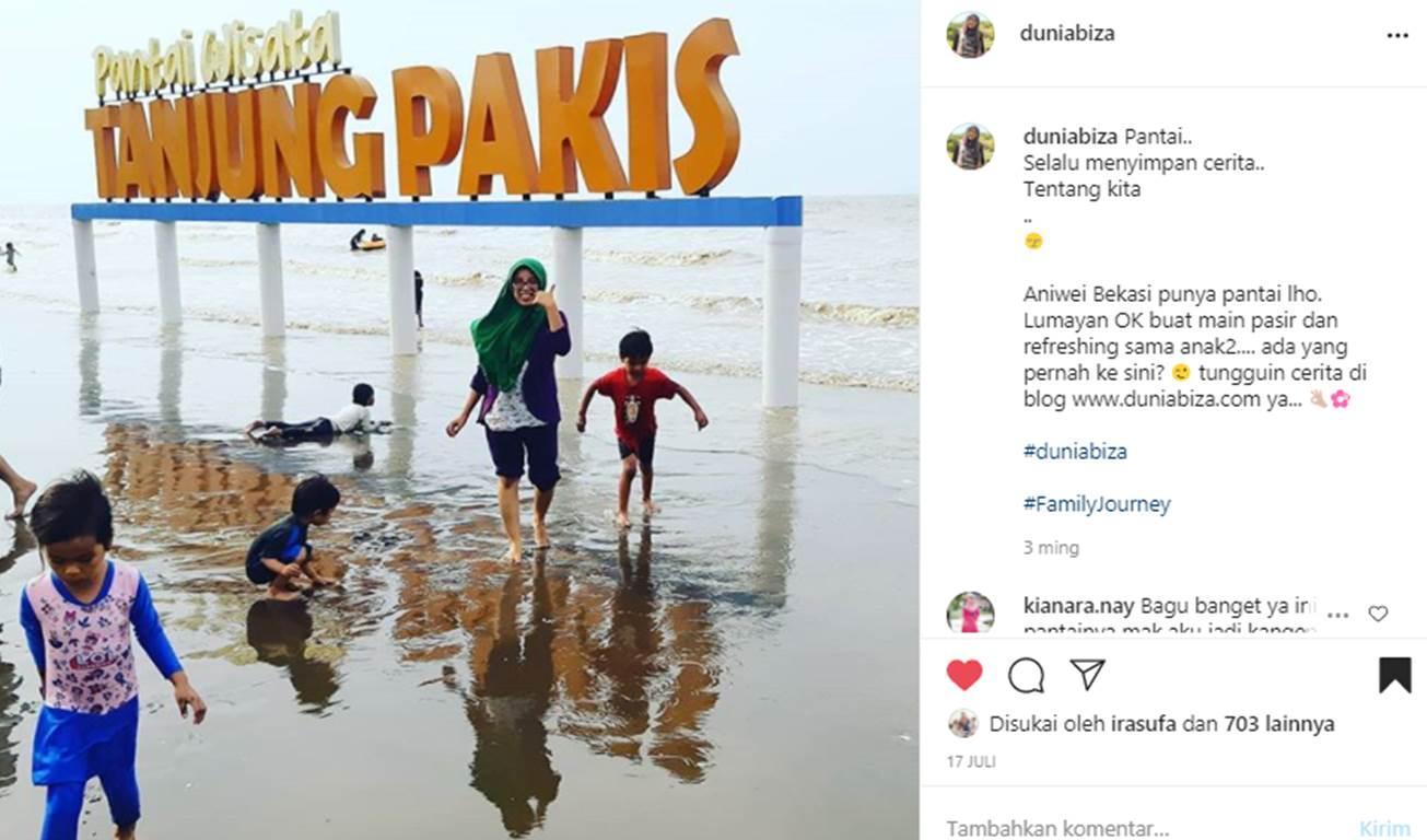 Pantai di Bekasi