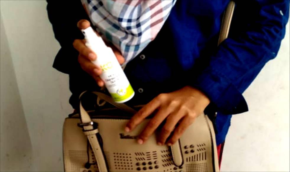 Disinfektan spray kit