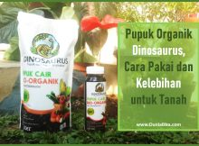 pupuk organik dinosaurus
