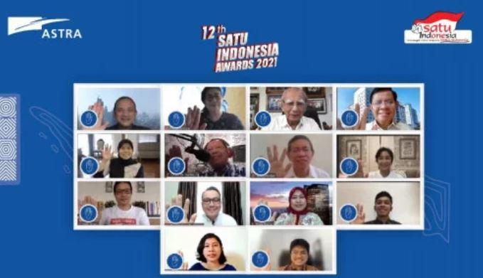 kick of Satu Indonesia Award 2021
